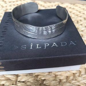 Silpada Sterling Silver Cuff - RETIRED